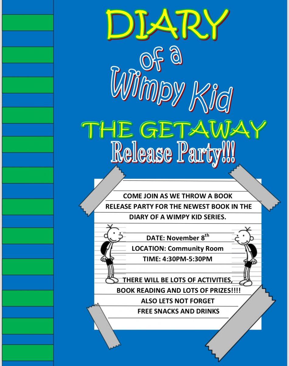 Diary Of A Wimpy Kid Thr Geyaway Release Date